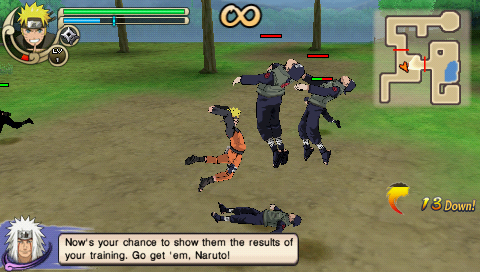 Ultimate download shippuden android naruto ninja psp ppsspp emulator impact